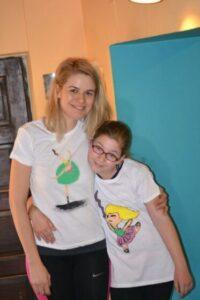 Atelier de pictat pe tricouri
